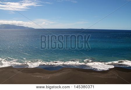 Riptides On A Beach