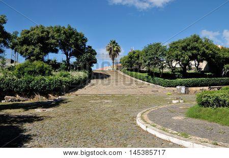 Plaza In Presidio