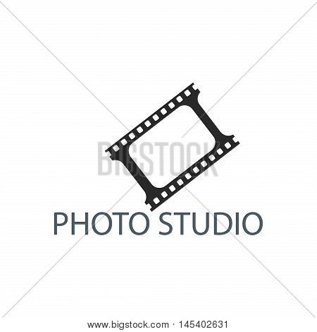 Photography logo design template sign design photography digital lens. Retro vector badge abstract technology photographer modern business. Photo studio modern business element.
