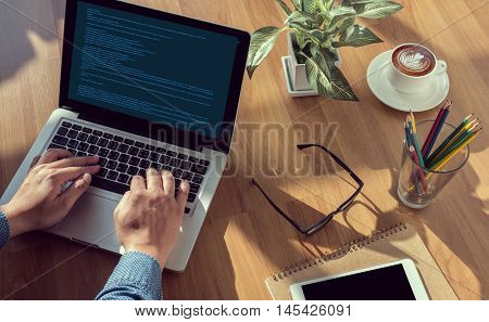 Computer Coding Code Php Programming Html Coding Cyberspace