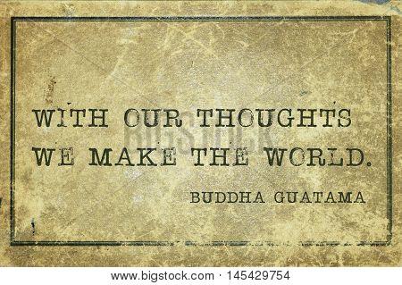 Make World Buddha