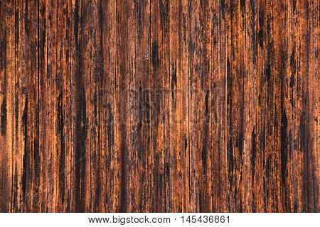 The beutiful old bamboo wooden planks backgrond