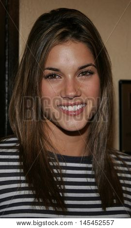 Missy Peregrym at the Los Angeles premiere of 'Waiting' held at the Mann Bruin Theater in Westwood, USA on September 29, 2005.