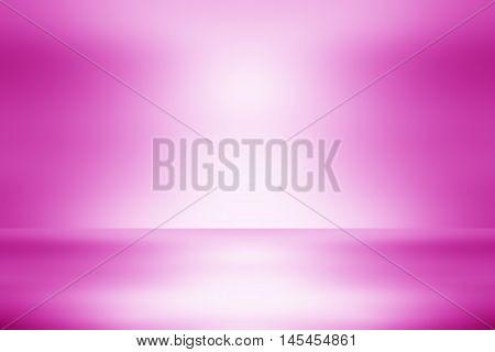 pink gradient studio / Empty Studio. Light Pink Abstract Background / Pink room studio abstract background / pink background