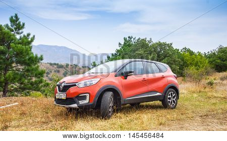 New Orange Renault Kaptur