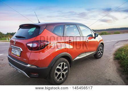 Renault Kaptur On Highway