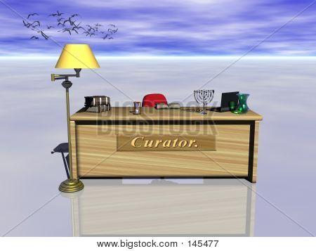 Curator Desk.