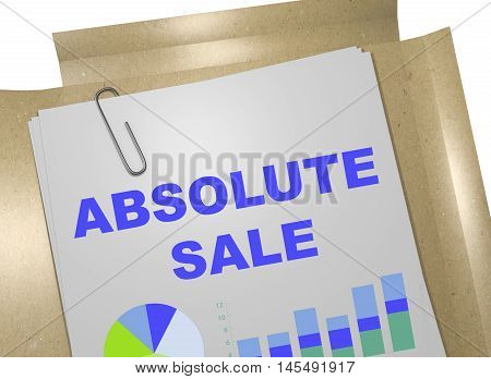 Absolute Sale Concept