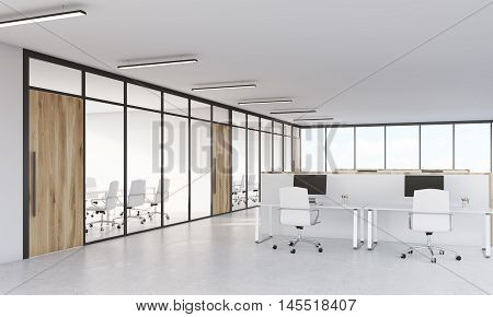 Meeting Room And Cubicles
