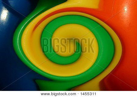 Yellow Swirl