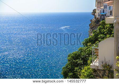Terrace with view on the sea Bonifacio Corsica