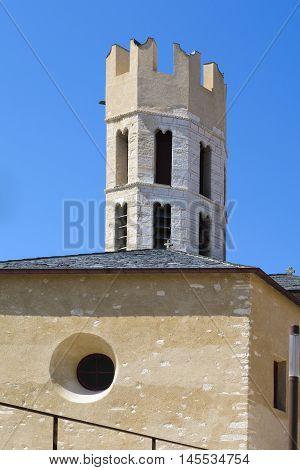 Old Architecture Inside The City Of Bonifacio, Corsica