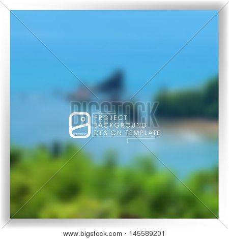 blurrehd abstract background template for your report, design, illustration, project concept. eps10 vector