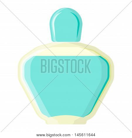 Blank package container design and parfume package template. Blank package merchandise product liquid clean household. Highly detailed flat colorful cosmetics blank package icon vector.