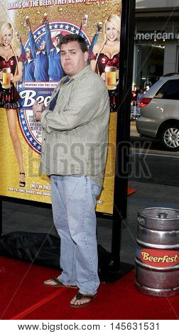 Kevin Heffernan at the Los Angeles premiere of 'Beerfest' held at the Grauman's Chinese Theatre in Hollywood, USA on August 21, 2006.