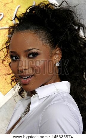 Ciara at the Los Angeles premiere of 'Step Up' held at the Arclight Cinemas in Hollywood, USA on August 7, 2006.
