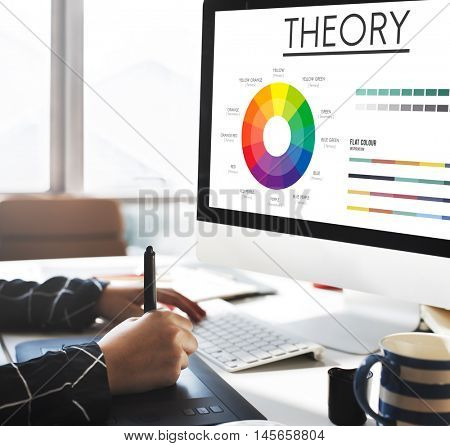 Theory Graphic Chart Color Scheme Concept