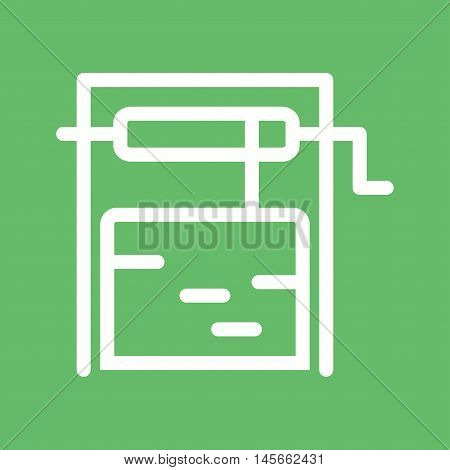 Well, water, deep icon vector image. Can also be used for farm. Suitable for mobile apps, web apps and print media.