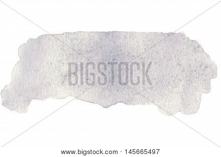 Abstract watercolor hand paint texture isolated on white background. Hand painted wet watercolor textured backdrop watercolor drop stain