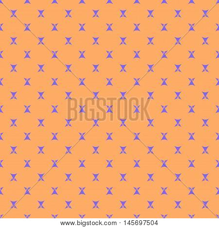 Triangle geometric seamless pattern. Fashion graphic background design. Modern stylish abstract color texture. Template for prints textiles wrapping wallpaper website Stock VECTOR ilustration