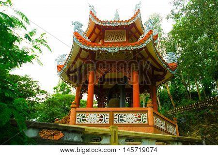 Buddhist Temple In Vietnam