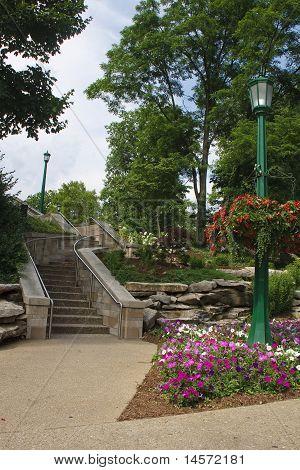 Steps Through Formal Gardens