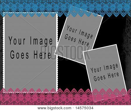 Collage Template (Layered .psd)