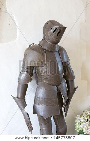 Armor In A Castle