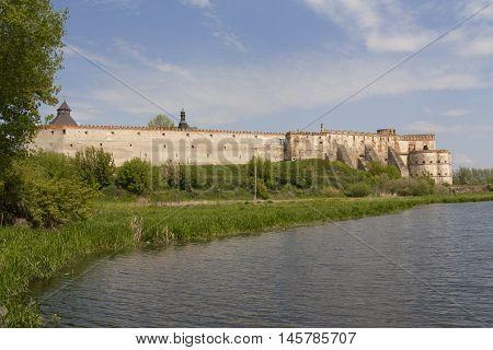 Mediaval fortress in Medzhibozh ukrainian place of glory photo