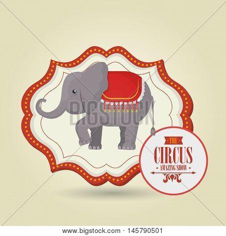 big top circus icon vector illustration eps10 eps 10