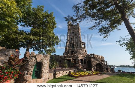 Boldt Castle on the St. Lawrense seaway