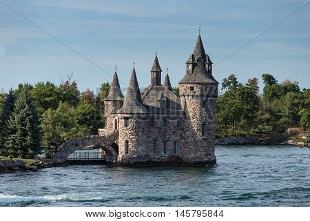 Boldt Castle located on the St. Lawrence Seaway