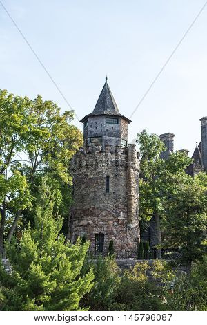 Boldt Castle on the St. Lawrence Seaway