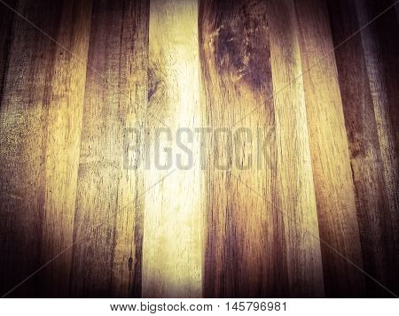 a vintage hardwood background with dark edges