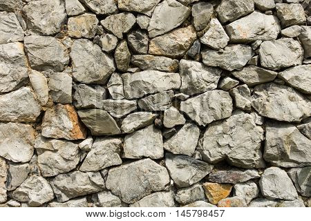 Stone wall exteriorabstract background Texture stone background.