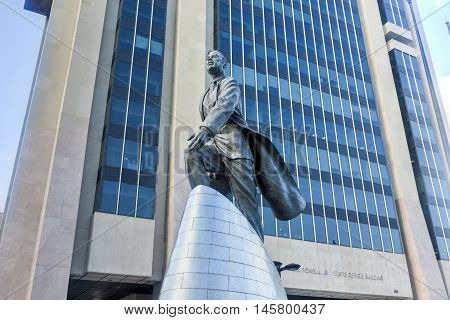Adam Clayton Powell Statue - Nyc