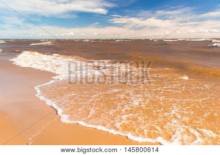 Foaming Water Divine Coastline