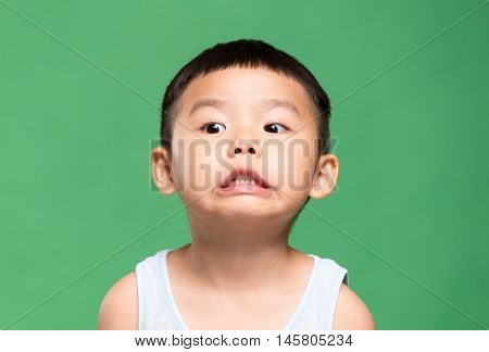 Young kid with lovely face