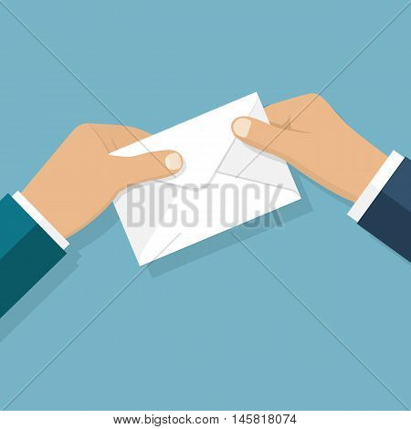 Give Envelope Vector