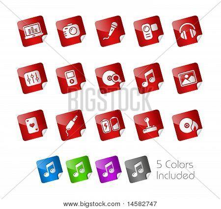 Media & Entertainment // Stickers Series
