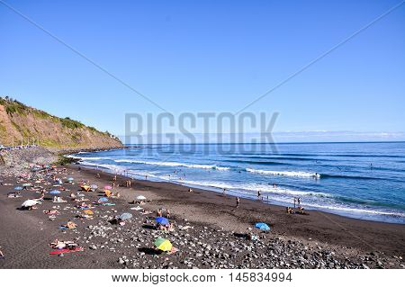Beautiful Windy Beach Playa El Socorro