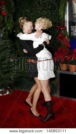 Alexandra Holden and Anna Faris at the Los Angeles premiere of 'Just Friends' held at the Mann Village Theatre in Westwood, USA on November 14, 2005.