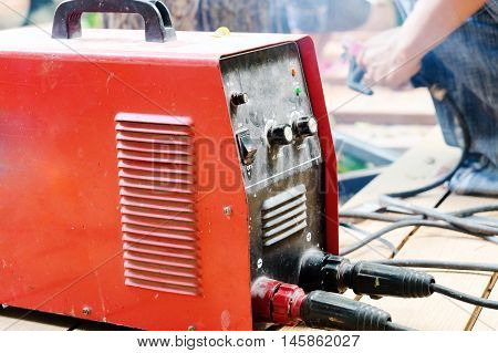 image of Metalworking / Industrial Worker, Welding Machine