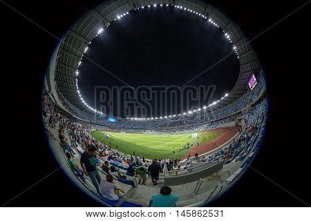 Interior View Of Boris Paichadze Dinamo Arena, Tbilisi, Georgia