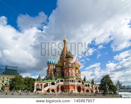 The Cathedral Of Vasily The Blessed - Saint Basil's Cathedral.