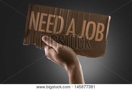Need a Job