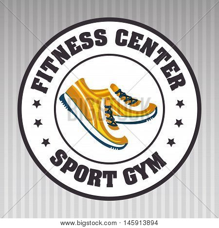 footwear sport gym vector illustration graphic eps 10