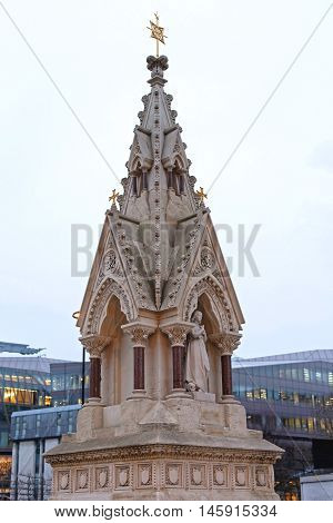 St Lawrence and Mary Magdalene Drinking Fountain at Carter Lane in London
