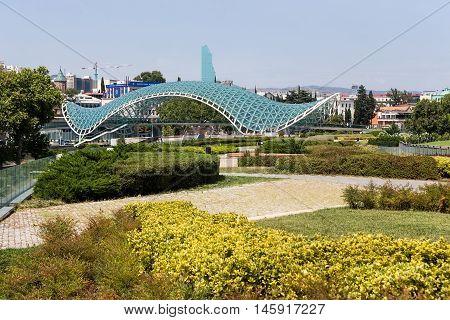 Bridge Of Peace In Tbilisi, Geaorgia