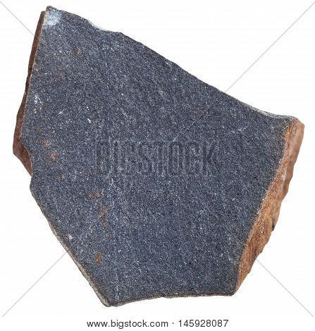 Glassy Basalt ( Hyalobasalt) Mstone Isolated
